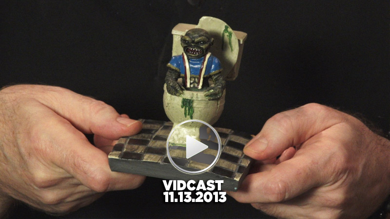 Charles Band Vidcast 11.13.2013 - Ghoulies Resin Statue and New Features on Full Moon Streaming