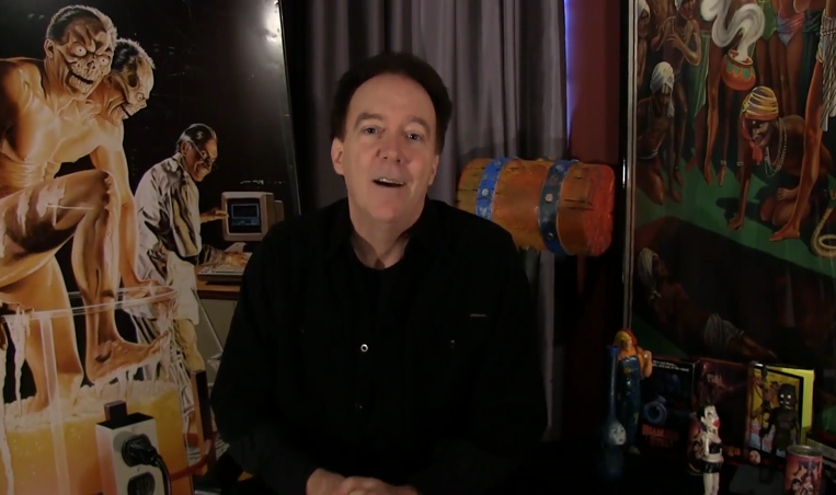 Charles Band Vidcast 12.11.12 Roger Corman, Grindhouse, Ooga Booga and HUGE contest!