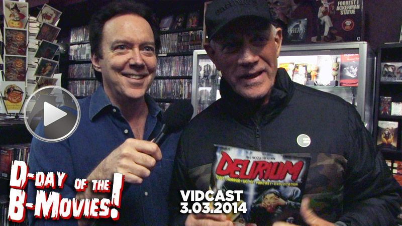 Charles Band Vidcast 3.3.14 - Delirium Magazine Launch Party at Dark Delicacies