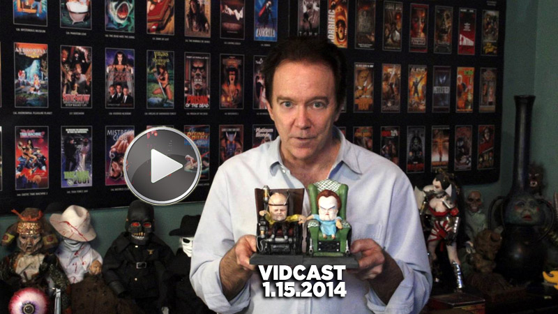 Charles Band Vidcast 1.15.14 - Wizard Studios and Head of the Family