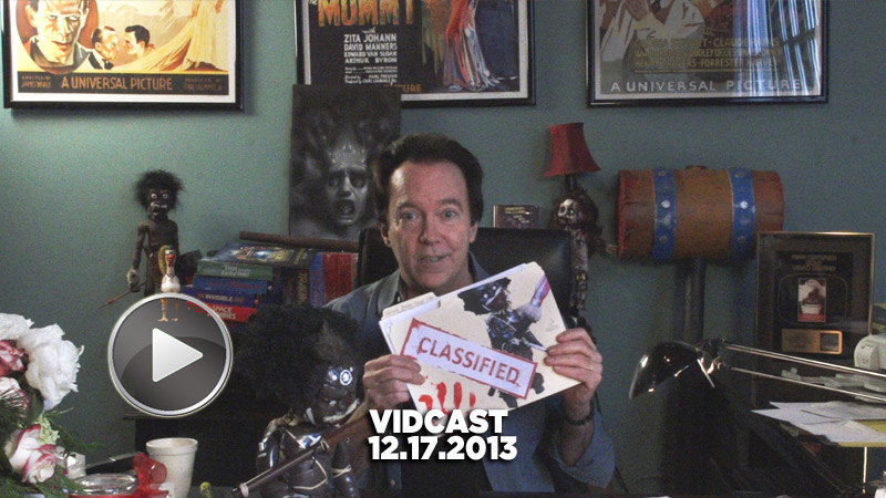 Charles Band Vidcast 12.17.13 - Fan Mail and Holiday Plans