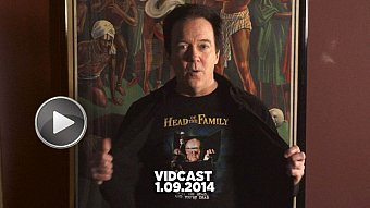 Charles Band Vidcast 1/9/14 - Empire of the Bs & Delirium Magazine