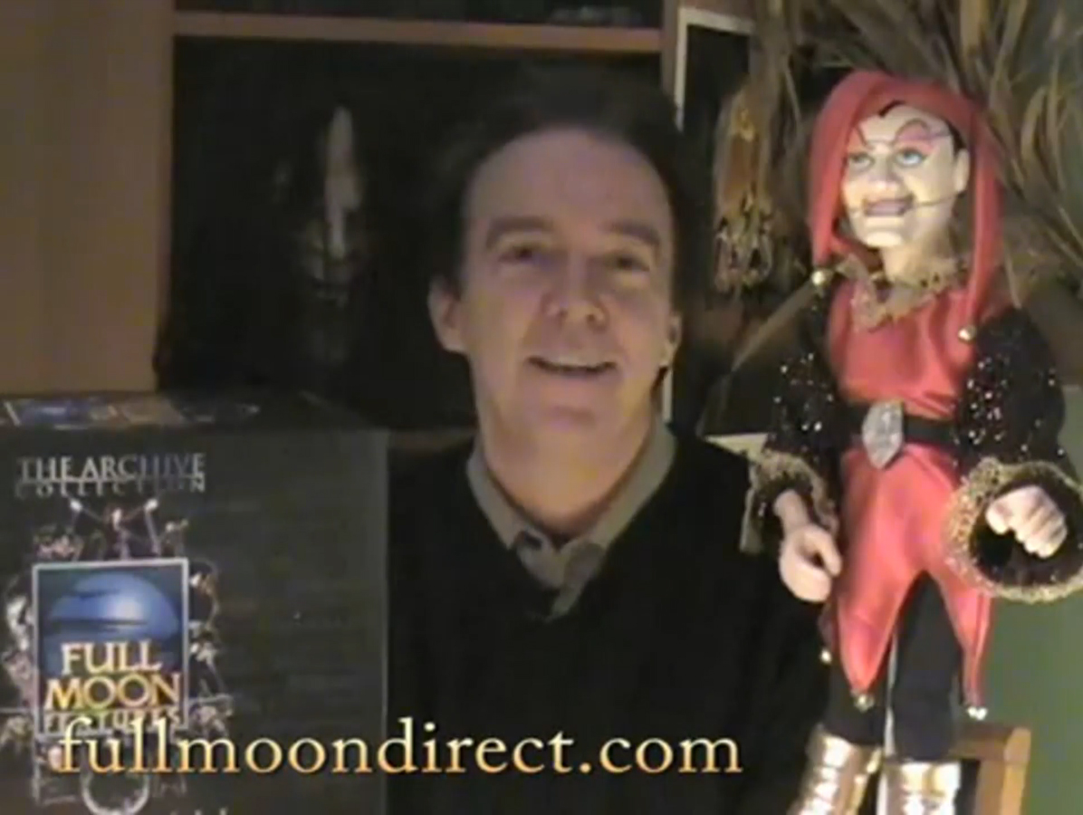 Charles Band Vidcast 2.11.09 - New Movies and Puppet Master Replicas